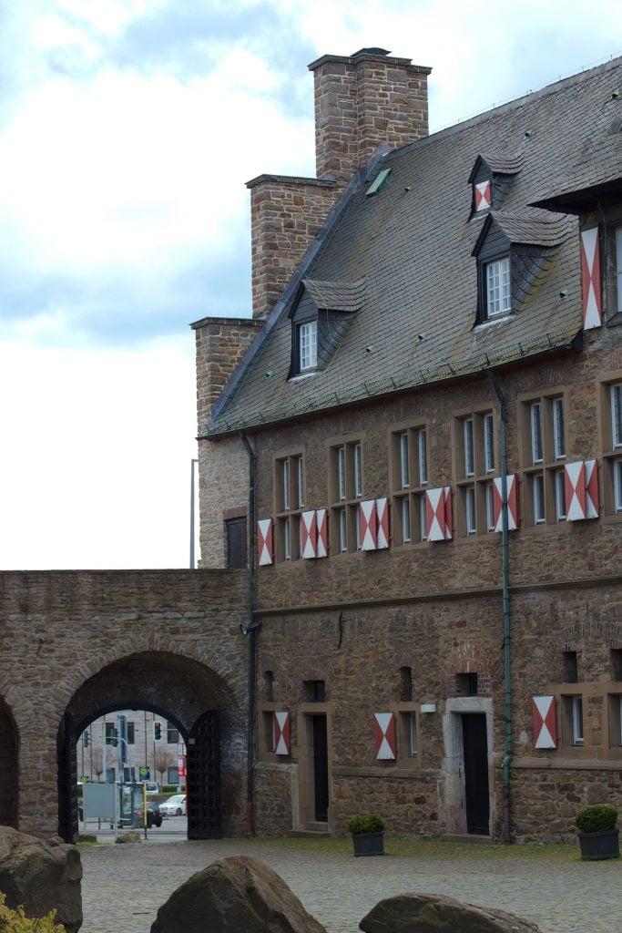 Hof des Schloss Broich