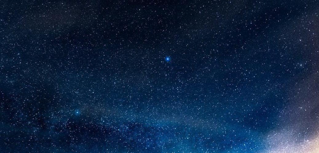 Sternenhimmel über Xanten