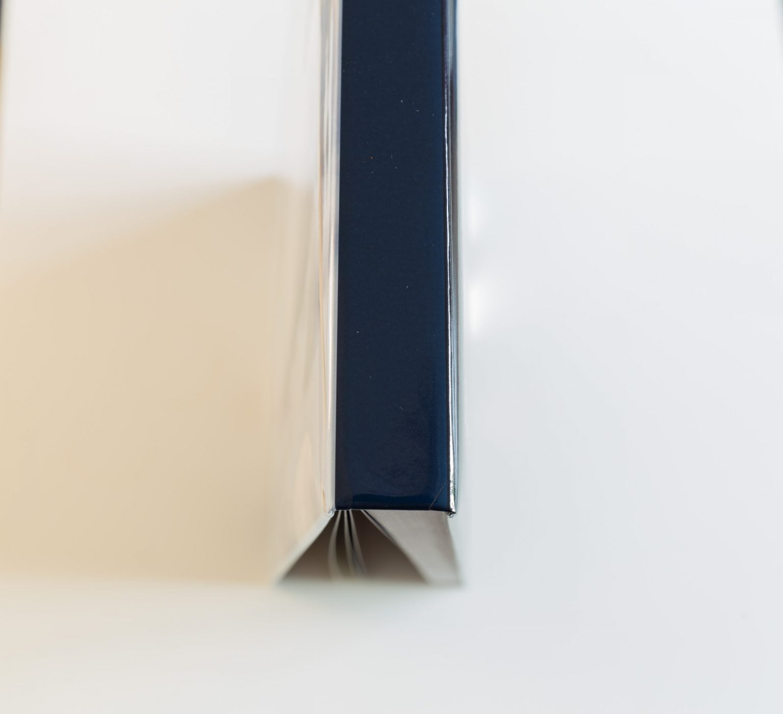 Buchrücken eines 100-seitigen A3 Fotobuchs